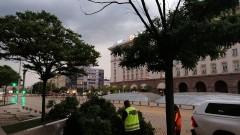 Мощна буря се изви над София