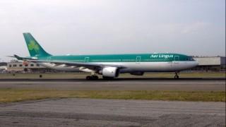 Самолет на ирландската авиокомпания Aer Lingus обяви извънредна ситуация