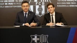 Сержи Роберто преподписа с Барселона