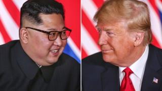 Тръмп очаква новата среща с Ким чен Ун