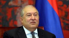 Арменският президент очаква ЕС и НАТО да спрат боевете в Нагорни Карабах