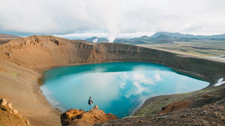 На какво се дължат 18-те хиляди земетресения в Исландия