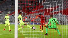 Атлетико (Мадрид) - Байерн (Мюнхен) 1:0, попадение на Жоао Феликс
