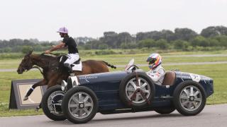 Фернандо Алонсо се справи и срещу... кон