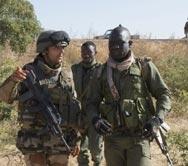 Френски и малийски военни вече контролират град Диабали