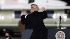 Тръмп ще бъде запомнен като посредствен президент, вярват повечето американци