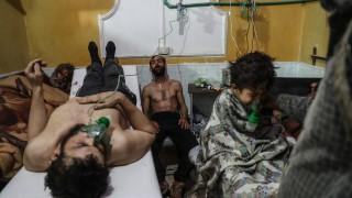 Великобритания плаши да удари Сирия, ако е използвала химически оръжия