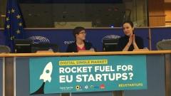 Стартиращи дигитални компании от цяла Европа се събраха в ЕП