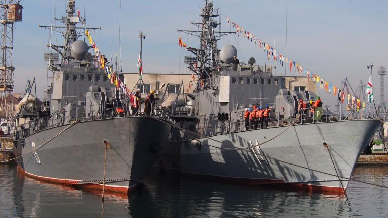 Военноморските сили тържествено откриха учебната 2018 г. година със строй