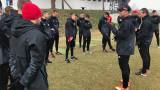 ЦСКА с открита тренировка за фенове и медии