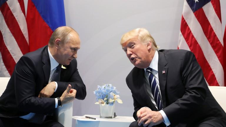 Путин и Тръмп очаровани един от друг