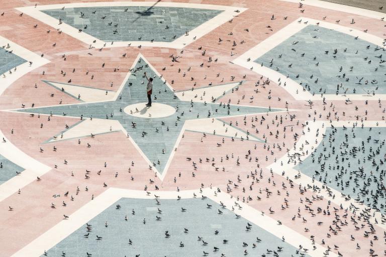 Площад Каталуния, Барселона, Испания