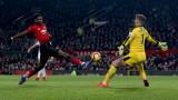 Манчестър Юнайтед и Бърнли не се победиха във Висшата лига - 2:2