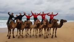 В ЦСКА разпуснаха с разходка до Мароко, яздене на камили и караоке
