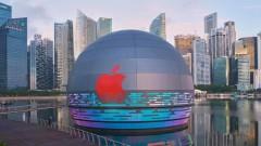Apple с първи плаващ магазин