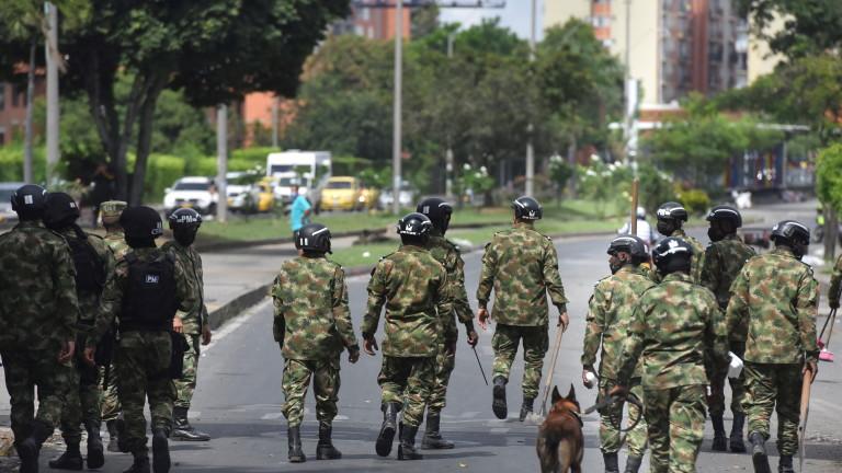 Колумбия задържа 19 души и разчисти барикади по пътищата