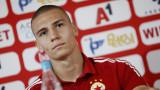 Валентин Антов с обширно интервю за ТОПСПОРТ: Не знам за интерес от Рома и Арсенал, важно е да се развивам в ЦСКА
