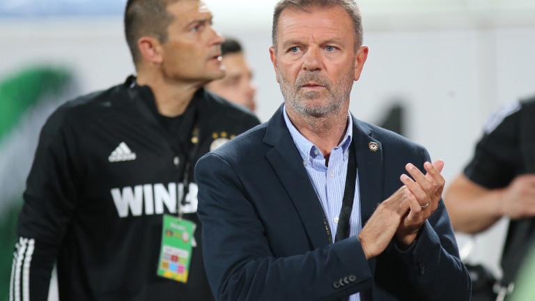 Младенов с 10 мача след завръщането си в ЦСКА, спечели половината