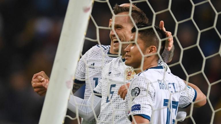 Русия постигна първа победа в квалификациите за Евро 2020. В