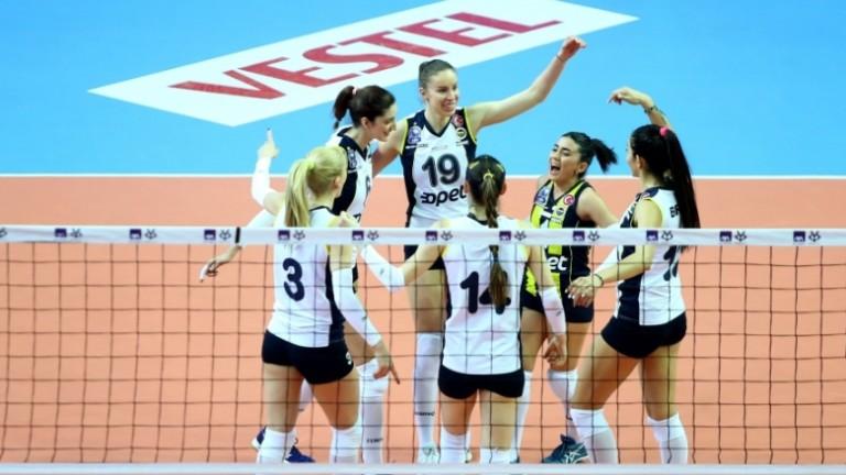 Българката Добриана Рабаджиева и нейният Фенербахче ще играят на финала