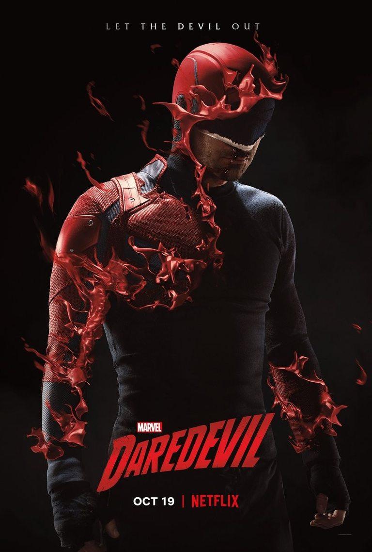 Официалният постер на трети сезон на Daredevil
