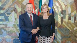 Чавушоглу към Захариева: Сътрудничеството на България и Турция е за пример