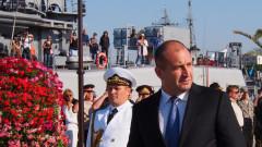 Радев иска силни Военноморски сили и нови изтребители