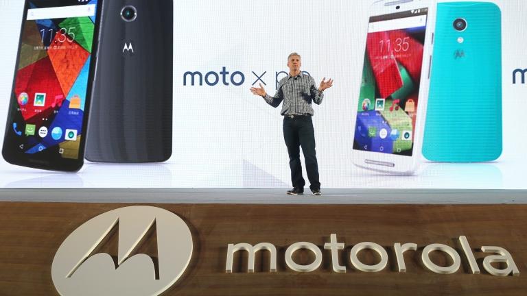 Изглежда Motorola няма намерение да изостава от последните тенденции на