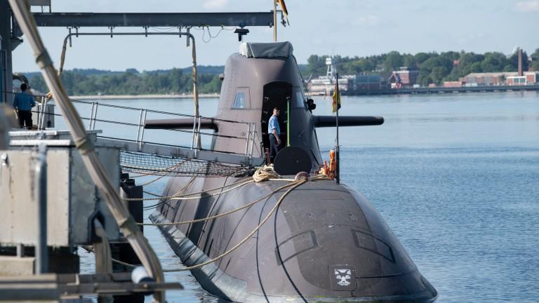 Германските подводници оборудвани с руска навигация