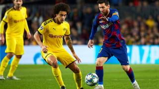 Барселона - Борусия (Дортмунд) 3:1, Санчо бележи за гостите