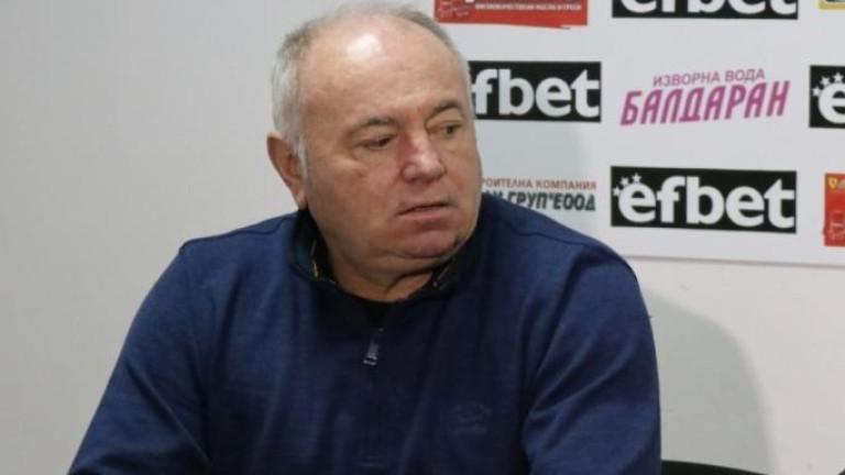 Чавдар Цветков пред ТОПСПОРТ: Приносът на Венци за Славия и българския футбол е огромен, фаворит във финала няма