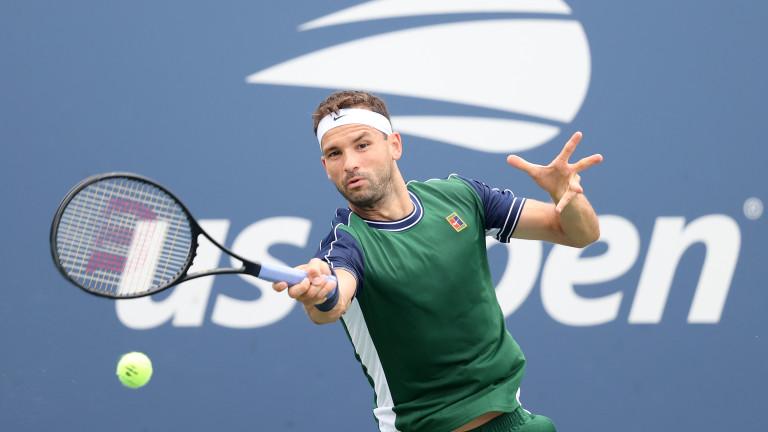 Единственият българин в тенис елита Григор Димитров ще участва отново