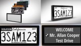 В Калифорния разрешиха дигитални автомобилни номера (ВИДЕО)