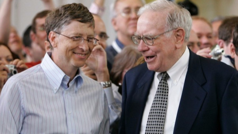 Гейтс и Бъфет са много добри приятели