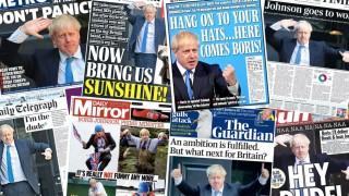 Печатът на Острова за победата на Джонсън: Срещнете се новия пич на No 10