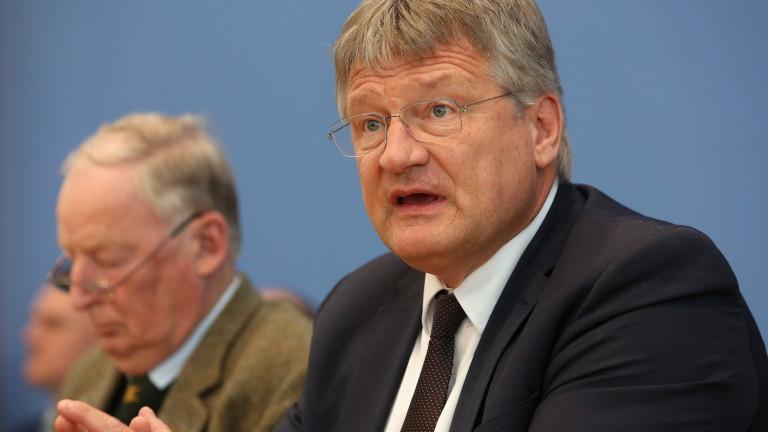 """Крайнодясната """"Алтернатива за Германия"""" съжалява, че е агитирала за Декзит"""