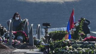 1250 бежанци са се завърнали за ден в Нагорни Карабах