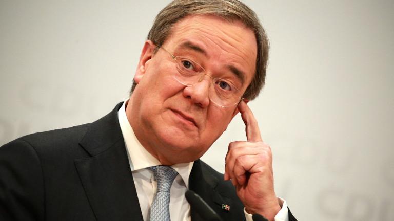 Армин Лашет не мисли за ревизия на позицията на Германия за Северен поток 2