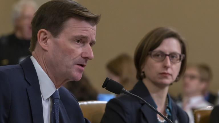 Няма доказателства Украйна да се е намесвала на изборите през 2016 г., твърди топ дипломат на САЩ