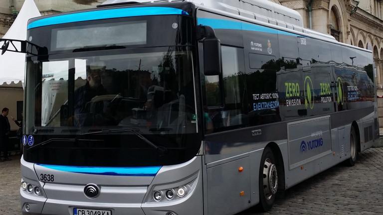В Добрич пускат пробно електрически автобус