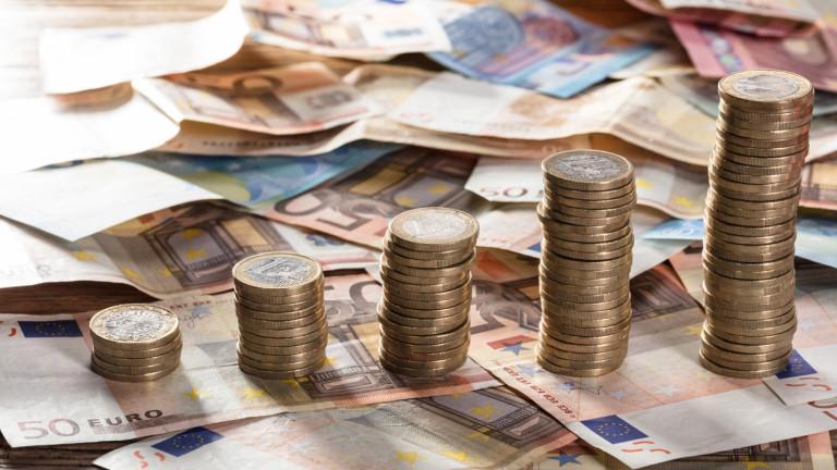 Инфлацията в еврозоната превиши целевия показател на ЕЦБ