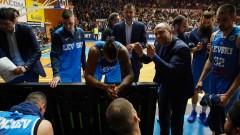"""Баскетболистите на Левски Лукойл се вливат в """"синята"""" агитка за дербито"""