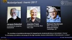 За микроскопска технология трима печелят Нобел за химия за 2017 г.