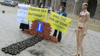 """""""Грийнпийс"""" с кампания срещу въглищата и тецовете ни"""
