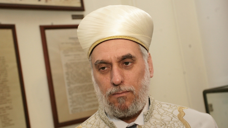 Главният мюфтия Мустафа Хаджи изрази недоволството си относно Закона за