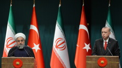 Ердоган атакува САЩ за санкциите срещу Иран