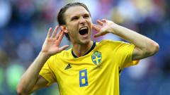 Халф на Швеция под въпрос за мача с Англия