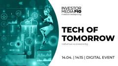 Как технологиите променят дигитални разплащания и кога банките ще оперират с тях - акцент във второто онлайн издание на Tech of Tomorrow