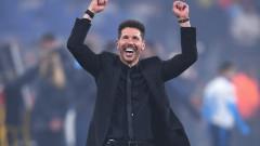 Атлетико победи с 4:0 в 400-ия мач на Диего Симеоне начело на отбора
