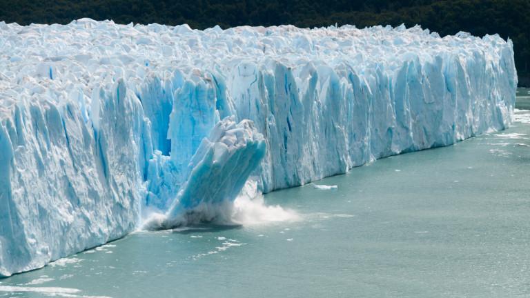 Колко лед е загубила планетата за 55 години
